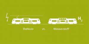 Batteriezug schlägt Wasserstoff-Triebwagen