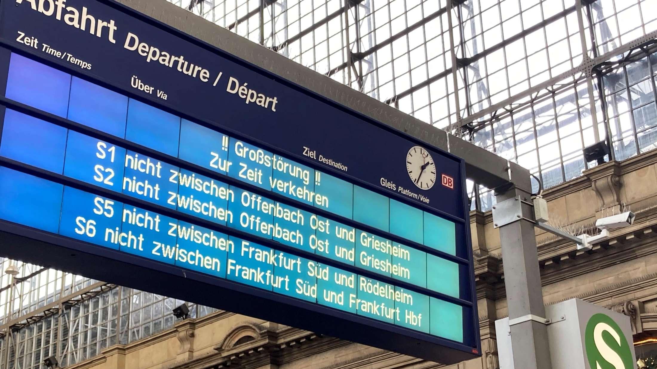 S-Bahn Störung und Ihre Auswirkungen